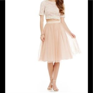 NWT Belle Badgley Mischka Nevada Skirt